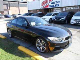 Used 2014 BMW 4 Series 435i xDrive ~ M pkg. ~ NAV. ~ 360 CAMERA ~ H/K for sale in Toronto, ON