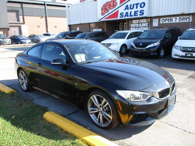 2014 BMW 4 Series 435i xDrive ~ M pkg. ~ NAV. ~ 360 CAMERA ~ H/K