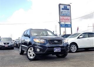 Used 2011 Hyundai Santa Fe No Accidents | AWD| Sunroof | Heated seats for sale in Brampton, ON
