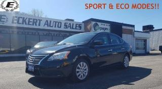 Used 2014 Nissan Sentra S/BLUETOOTH/SPORT & ECO MODES!! for sale in Barrie, ON