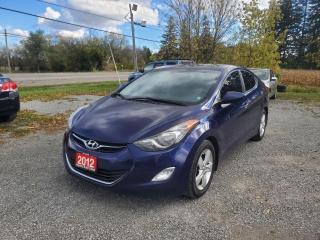 Used 2012 Hyundai Elantra GLS POWER SUNROOF REAR HEATED SEATS 1 OWNER for sale in Stouffville, ON