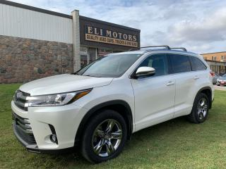 Used 2019 Toyota Highlander Hybrid Limited  AWD 360 BIRD VIEW CAM NAVI PANO ROOF for sale in North York, ON