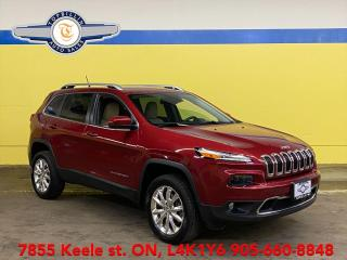 Used 2015 Jeep Cherokee Limited 4WD, Navi, Active Cruise, Blind Spot for sale in Vaughan, ON
