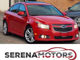 Used 2012 Chevrolet Cruze LT | RS PKG | MANUAL | SUNROOF | NO ACCIDENTS for sale in Mississauga, ON