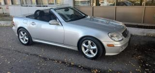 Used 2003 Mercedes-Benz SLK 3.2L for sale in North York, ON