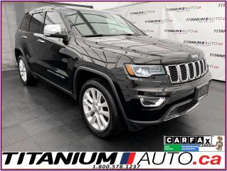 Used 2017 Jeep Grand Cherokee Limited+GPS+Pano Roof+Cooled Seats+Blind Spot+4X4 for sale in London, ON