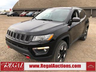 Used 2018 Jeep Compass Trailhawk 4D Utility 4WD 2.4L for sale in Calgary, AB