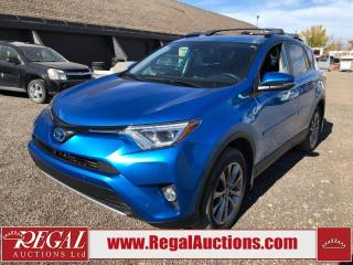 Used 2017 Toyota RAV4 LIMITED HYBRID 4D UTILITY AWD 2.5L for sale in Calgary, AB