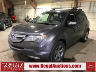 Used 2008 Acura MDX SH 4D Utility AWD for sale in Calgary, AB