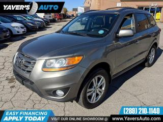 Used 2011 Hyundai Santa Fe LIMITED WITH NAVIGATION for sale in Hamilton, ON
