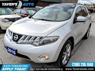 Used 2010 Nissan Murano LE for sale in Hamilton, ON