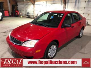 Used 2007 Ford Focus 4D Sedan FWD for sale in Calgary, AB