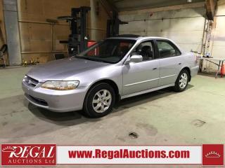 Used 2001 Honda Accord EX 4D Sedan FWD for sale in Calgary, AB