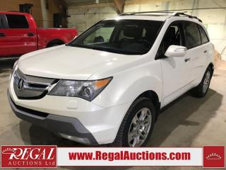 Used 2009 Acura MDX 4D Utility AWD for sale in Calgary, AB