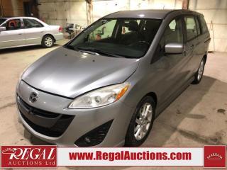Used 2012 Mazda MAZDA5 4D Hatchback for sale in Calgary, AB