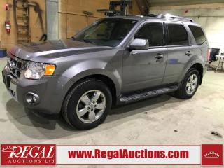 Used 2010 Ford Escape 4D Utility 4WD for sale in Calgary, AB