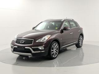 Used 2016 Infiniti QX50 Premium NAV W/TECHNOLOGY AWD, ACCIDENT FREE, for sale in Winnipeg, MB