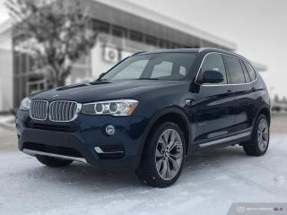 Used 2017 BMW X3 xDrive35i LEGENDARY 300HP BMW INLINE 6! for sale in Winnipeg, MB