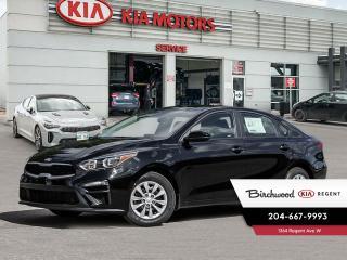 New 2021 Kia Forte LX *Heated Seats! Rear Camera! for sale in Winnipeg, MB