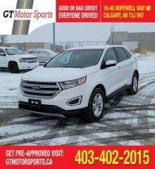 Used 2018 Ford Edge SEL  | $0 DOWN - EVERYONE APPROVED! for sale in Calgary, AB