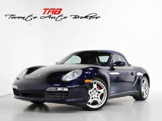 Used 2005 Porsche Boxster S I CONVERTIBLE I BOSE I 19 IN WHEELS for sale in Vaughan, ON