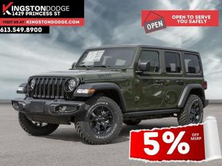 New 2021 Jeep Wrangler Sport Willys | Dual Tops | Heated Seats | Safet Gr for sale in Kingston, ON
