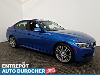 Used 2017 BMW 3 Series 330i xDrive AWD NAVIGATION - Toit Ouvrant - A/C - for sale in Laval, QC