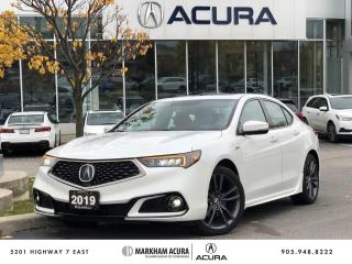 Used 2019 Acura TLX 3.5L SH-AWD w/Tech Pkg A-Spec Red for sale in Markham, ON