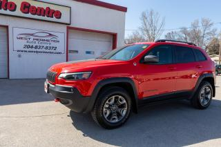Used 2019 Jeep Cherokee Trailhawk 4x4*Power Liftgate*Remote Start*Htd Seat for sale in Winnipeg, MB