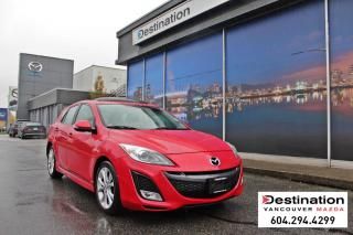 Used 2010 Mazda MAZDA3 GT - Fully loaded, manual, leather seats! for sale in Vancouver, BC