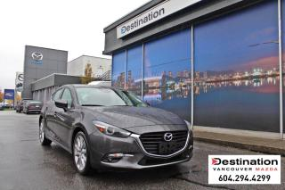 Used 2017 Mazda MAZDA3 GT - sunroof, heated steering and seats! for sale in Vancouver, BC