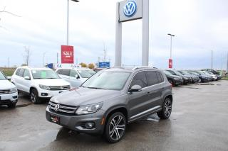 Used 2017 Volkswagen Tiguan 2.0L TSI Highline 4MOTION for sale in Whitby, ON
