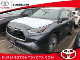 New 2021 Toyota Highlander Platinum AWD (Natl) for sale in Burlington, ON