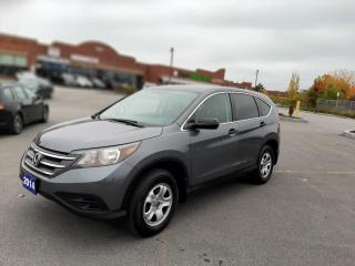 Used 2014 Honda CR-V AWD 5dr LX for sale in Scarborough, ON