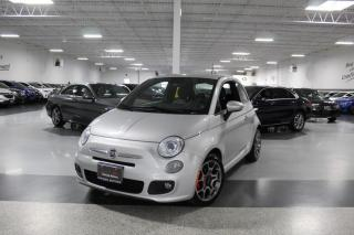 Used 2014 Fiat 500 HB SPORT NO ACCIDENTS I LEATHER I POWER OPTIONS I KEYLESS for sale in Mississauga, ON