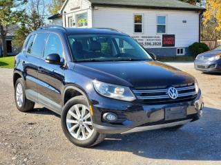Used 2015 Volkswagen Tiguan No-Accidents 1-Owner Highline AWD BCKPCAM LTHR PANO BLTH for sale in Sutton, ON