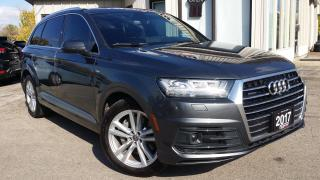 Used 2017 Audi Q7 3.0T Technik S-Line - NAV! 360 CAM! HUD! B&O SOUND! PANO ROOF! for sale in Kitchener, ON