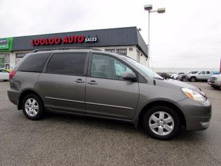 Used 2004 Toyota Sienna LE 7 Passenger Automatic No Accident Certified for sale in Milton, ON
