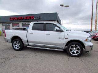 Used 2014 RAM 1500 Laramie Crew Cab 4WD Hemi 5.7l Navi Camera Certified for sale in Milton, ON