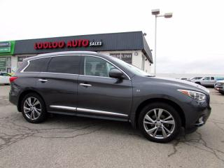 Used 2014 Infiniti QX60 AWD 7 Pass DVD Navigation Camera Bluetooth Certified for sale in Milton, ON