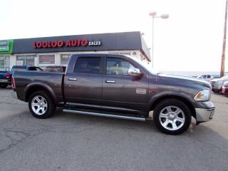 Used 2015 RAM 1500 Laramie Longhorn Crew Cab 4WD Diesel Navi Camera Certified for sale in Milton, ON