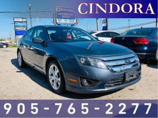 Used 2012 Ford Fusion SE, Auto, Bluetooth, Sirius Radio for sale in Caledonia, ON