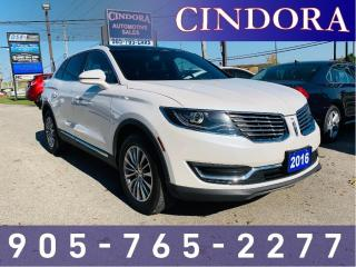 Used 2016 Lincoln MKX AWD, Pano Roof, Nav, Leather for sale in Caledonia, ON