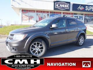 Used 2017 Dodge Journey GT  NAV CAM DVD BT P/SEATS HTD/SEATS HTD-S/W for sale in St. Catharines, ON