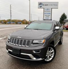Used 2016 Jeep Grand Cherokee Summit 4WD | NAV | PANO ROOF | HARMAN KARDON SPEAKERS | for sale in Barrie, ON