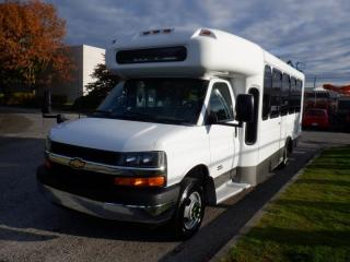 Used 2012 Chevrolet Express G4500 Duramax Diesel 18 Passenger Bus with Wheelchair Accessibility for sale in Burnaby, BC