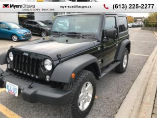 Used 2014 Jeep Wrangler Sport  SPORT, MANUAL, A/C, LOW LOW KM!! HARD TOP for sale in Ottawa, ON