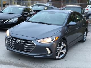 Used 2017 Hyundai Elantra Limited for sale in Brampton, ON