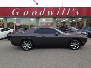 Used 2015 Dodge Challenger SXT! HEATED, COOLED LEATHER! NAV! BT! CAMERA! for sale in Aylmer, ON