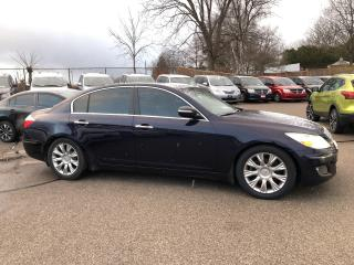 Used 2009 Hyundai Genesis 3.8L TECH PKG! CLEAN CARFAX! HEATED LEATHER! NAV! for sale in Aylmer, ON